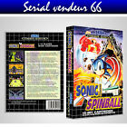 "BOX, CASE ""SONIC SPINBALL"". MEGADRIVE. BOX + COVER PRINTED. NO GAME.MULTILINGUAL"