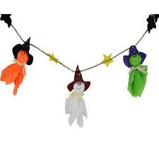 Halloween Paper Ghost String Flag Hanging Drop Halloween Pendant Decoration GT