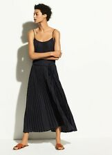 NWT Vince Polka Dot Pleated Cami Dress Coastal Sandstone Size XS, S $325