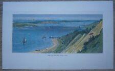 1872 Bryant print GREENPORT & SHELTER ISLAND, LONG ISLAND, NEW YORK STATE (#249)