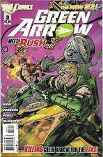 Green Arrow (New 52) #3 - VF/NM - Rush