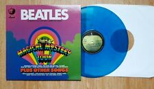 MAGICAL MYSTERY TOUR PLUS OTHER SONGS Unofficiel In Blue Vinyl Mint !