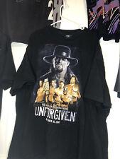 New listing Vintage 2007 Wwe Wwf Wrestling Undertaker Unforgiven Ppv Tee Size 3Xl
