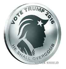 2016 1 oz Trump Reverse Proof Oligarchy SILVER SHIELD GROUP SSG 777