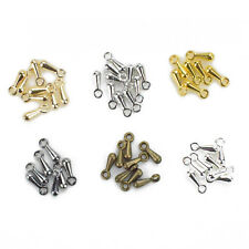 100pcs Ending Droplets Jewelry Pendant DIY Metal Beads End Of Extend The Chain