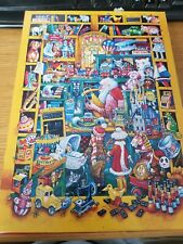 SPRINGBOK Puzzle Toys & Tots Christmas Santa 60 Piece