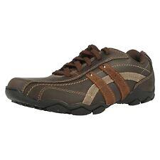 Mens SKECHERS Casual Shoe Blake 63385 UK 8 Brown