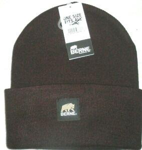 Beanie Hat, Watch Cap, Toboggan Hat, Cuff Cap, Berne Heritage H150, Maroon Hea