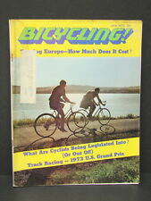 Vintage Bicycling! Magazine June 1973 '73 U.S. Grand Prix Touring Europe