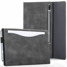 Samsung Galaxy Tab S6 10.5 Case, Cover, Stand with Document Pocket & Sleep Wake