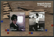 More details for curacao aviation stamps 2020 mnh margareth abraham famous people 2v m/s