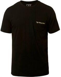 Fox Resin SS Airline Tee Black - Short Sleeve Foxhead T-Shirt