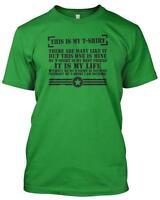 Riflemans Creed T-Shirt Parody Marines full Metal Jacket 'This is My Tshirt' Men