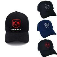 DODGE RAM Embroidered Baseball Cap Adjustable Snapback Hat Dodge Ram Truck Hat