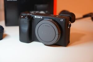Sony Alpha a6400 24.2MP Camera (Body Only) + Battery Charger + Extra Battery
