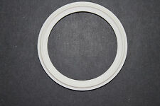 "SANITARY GASKET 1.5"" TEFLON 500* F TRI CLAMP FERRULE PTFE PIPE FITTING"