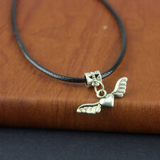 Tibetan Silver Necklace Chain 20inch Unisex Fashion Jewelry Winged love