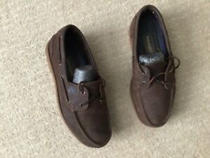 Timberland Classic 2 Eye Brown 25077 Classic Mens Boat Shoes 9 W