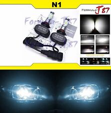LED Kit N1 50W 9012 HIR2 6000K White Two Bulbs Head Light High Low Dual Beam Fit