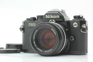 【N MINT++ S/N 859xxx】 Nikon New FM2 FM2N Black Late w/ Ai-s 50mm f/1.4 Japan 440