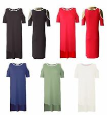 Unbranded Plus Size Crew Neck Casual Dresses for Women