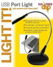 New listing Light it! Usb Port Led Light - Dual Power Base Usb/Battery #30051-303 -New!