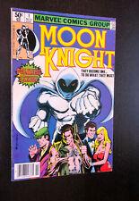 MOON KNIGHT #1 (Marvel 1980) -- Newsstand Variant -- Fine