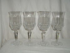 "4 Galway OLD GALWAY 8 1/2"" Water Goblets (Star Cut Foot)"
