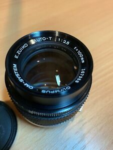 Olympus OM Zuiko 100mm f/2.8 Lens