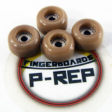 Peoples Republic- CNC Lathed Bearing Wheels for wooden fingerboard  - Coffee