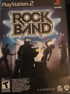 Rock Band (Sony PlayStation 2, 2007)