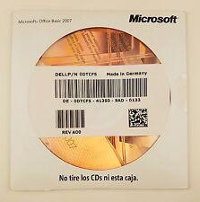 Microsoft Office 2007 Basic OEM CD mit Datenträger Vollversion spanisch spanish