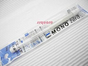 6 Refills (3 Tubes) for Tombow Mono Zero Rectangle Shape Elastomer Eraser Pen