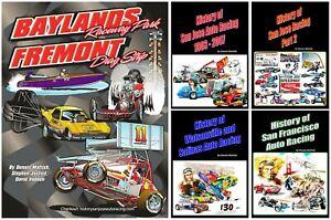 Dennis Mattish   Collectable Series BOOKS  on Northern California Race Tracks