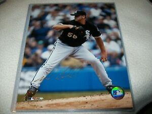 MARK BUEHRLE AUTOGRAPHED SIGNED 8X10 PHOTO CHICAGO WHITE SOX