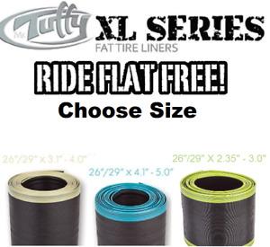"""Mr Tuffy XL SERIES Fat Bike 26/ 29"""" 2.35-5.0"""" Tire Liners 2XL 3XL 4XL Stop Flats"""
