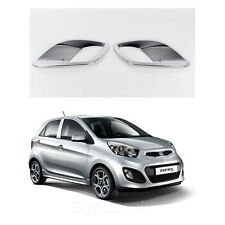 New Chrome Fog Light Lamp Cover Molding Trim K030 for Kia Picanto 2011-2012