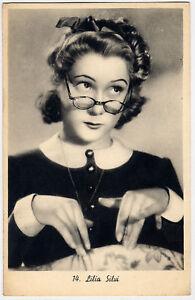 Cartolina originale di LILIA SILVI primi anni '40