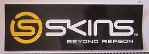 "6"" SKINS Beyond Reason Bike Bar Bicycle Frame  MTB Toolbox  Rack DECAL STICKER"