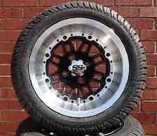 (4) ITP 12 SS216 LSI HD Aluminum Alloy Golf Cart Car Rim Wheels & Tires Mounted
