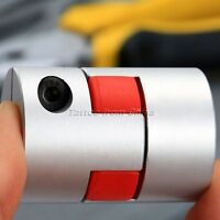 10mm x 14mm CNC Stepper Motor Flexible Aluminum Jaw Shaft Plum Coupling Coupler