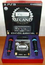 SingStar Mecano Edición Especial + 2 Micrófonos Inalámbricos + receptor USB, PS3