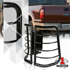 Black Stainless Steel Tail Light Guard Protector for 08-16 F250 F350 F450 SD