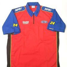 Jeff Gordon Hendrick Motorsports Sparco Mens Pit Crew Shirt Red DuPont XL New
