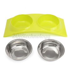 Portable Silicone Cat Dog Pet Feeding Bowl Collapsible Water Dish Feeder Travel