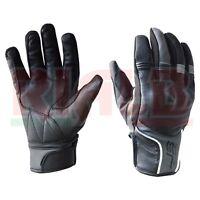 Guanti Moto Jollisport SMOVE in pelle con protezioni Impermeabili Traspiranti