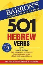 501 Hebrew Verbs (501 Verb Series) by Bolozky Ph.D., Shmuel