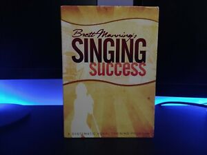 BRETT MANNING'S SINGING SUCCESS-VOCAL TRAINING PROGRAM-2010- 12 CDs-1 DVD-BOOK