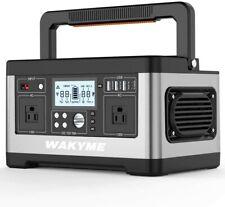 WAKYME 518Wh Solar Power Station Explorer Generator Emergency Power Supply 500W