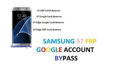 SAMSUNG GALAXY S7 / S7 EDGE G935F G930F  GOOGLE ACCOUNT REMOVAL SERVICE fast FRP